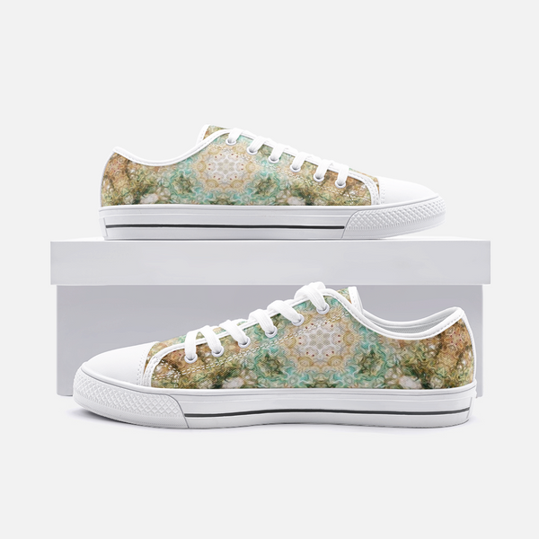 Amberwood Psychedelic Canvas Low-Tops
