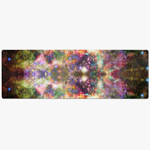 Ilstaag Psychedelic Suede Anti-Slip Yoga Mat