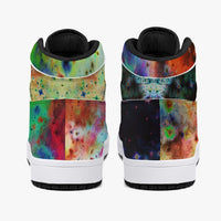 Acolyte Ethos Psychedelic Split-Style High-Top Sneakers