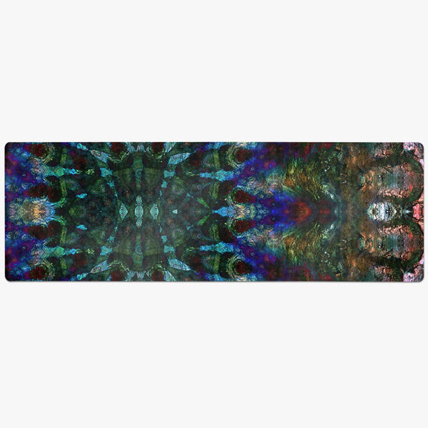 Azule Psychedelic Suede Anti-Slip Yoga Mat