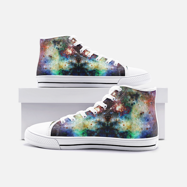 Ishtar Psychedelic Canvas High-Tops