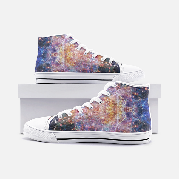 Niari's Shadow Psychedelic Canvas High-Tops