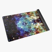 Valhalla Psychedelic Suede Anti-Slip Yoga Mat