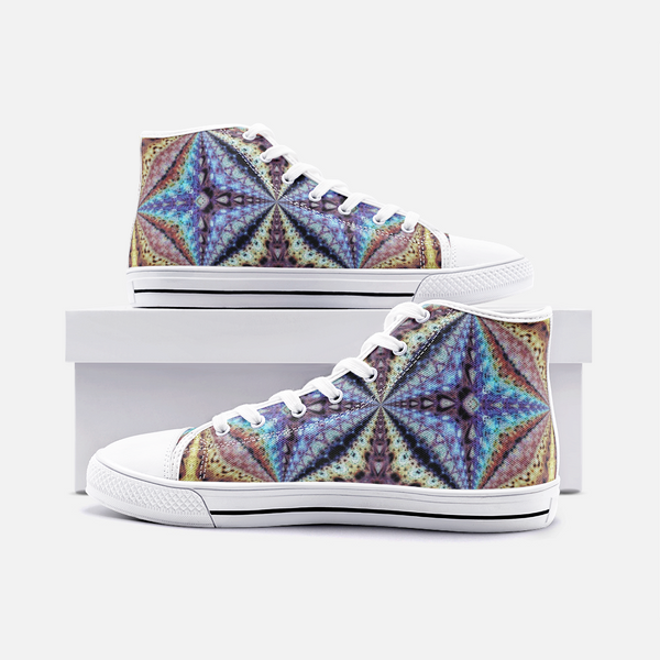 Ziggurat Psychedelic Canvas High-Tops