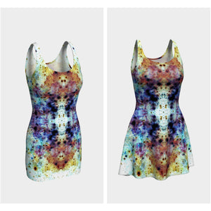 Regail Collection Psychedelic Dress - Heady & Handmade