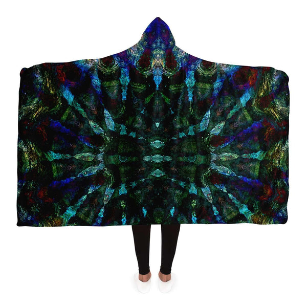 Azule Collection Hooded Blanket - Heady & Handmade