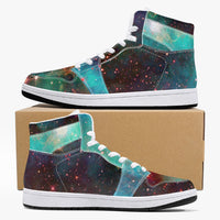 Archon Psychedelic Split-Style High-Top Sneakers