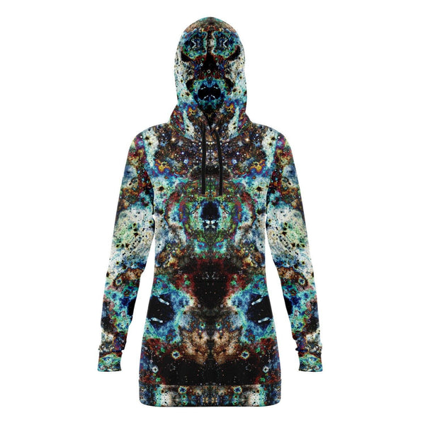 Lunix Collection Fleece-Lined Long Hoodie - Heady & Handmade