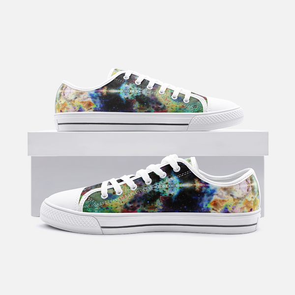 Acolyte Ethos Psychedelic Canvas Low-Tops