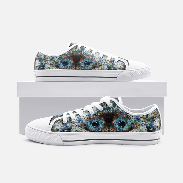 Lunix Psychedelic Canvas Low-Tops