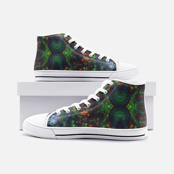 Epsilon Psychedelic Canvas High-Tops