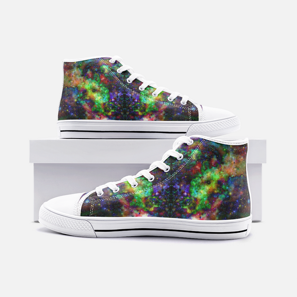 Kemrin Psychedelic Canvas High-Tops