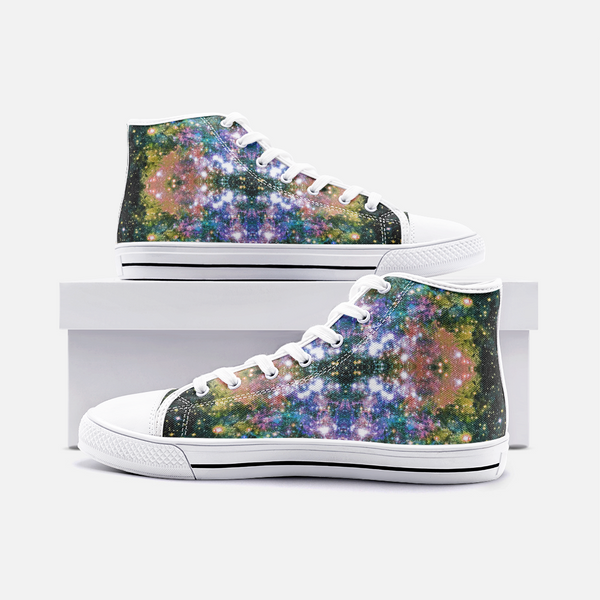 Ekhi Psychedelic Canvas High-Tops