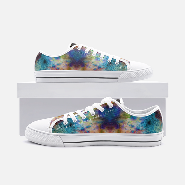 Acquiesce Nightshade Psychedelic Canvas Low-Tops