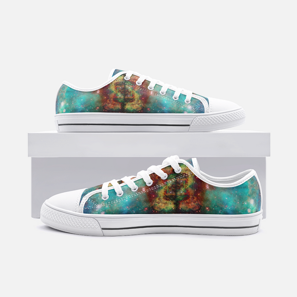 Archon Psychedelic Canvas Low-Tops