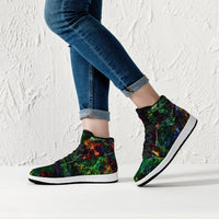 Epsilon Psychedelic Split-Style High-Top Sneakers