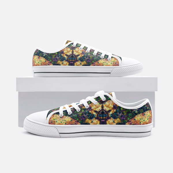 Venus Psychedelic Canvas Low-Tops