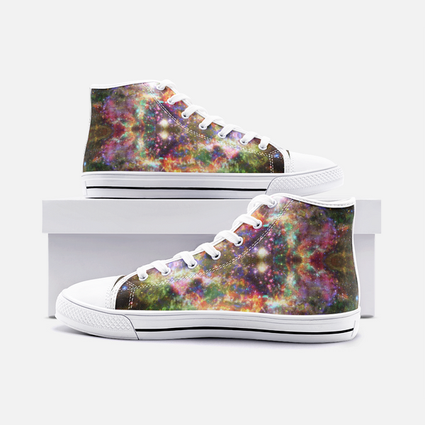Ilstaag Psychedelic Canvas High-Tops