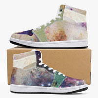 Baltus Psychedelic Split-Style High-Top Sneakers