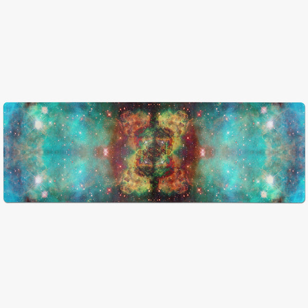 Archon Psychedelic Suede Anti-Slip Yoga Mat
