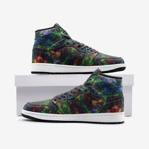 Epsilon Psychedelic Full-Style High-Top Sneakers