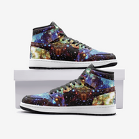 Valhalla Psychedelic Full-Style High-Top Sneakers
