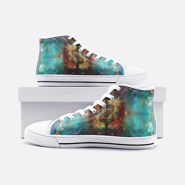 Archon Psychedelic Canvas High-Tops