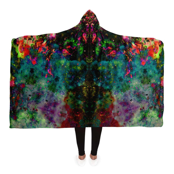Lucid Collection Hooded Blanket - Heady & Handmade
