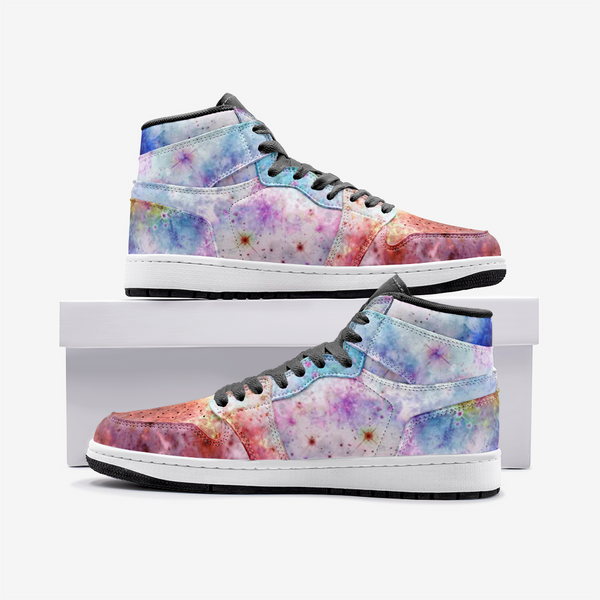 July Psychedelic Full-Style High-Top Sneakers