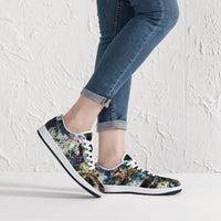 Lunix Psychedelic Split-Style Low-Top Sneakers