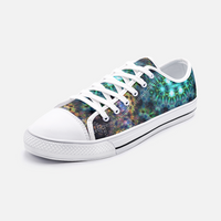 Ceres Psychedelic Canvas Low-Tops