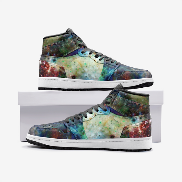 Ishtar Psychedelic Full-Style High-Top Sneakers
