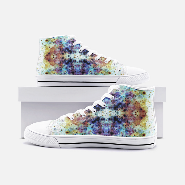 Regail Psychedelic Canvas High-Tops