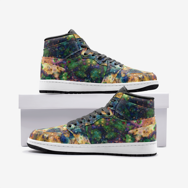 Venus Psychedelic Full-Style High-Top Sneakers