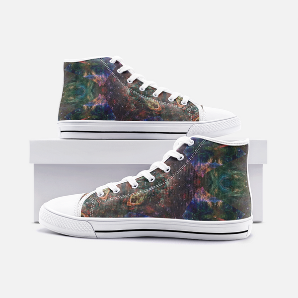 Prismyx Psychedelic Canvas High-Tops