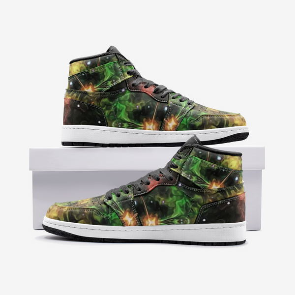 Esotarra Psychedelic Full-Style High-Top Sneakers