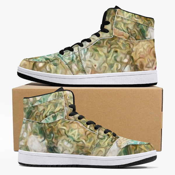 Amberwood Psychedelic Split-Style High-Top Sneakers