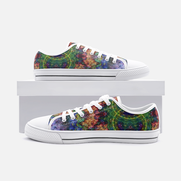 Starflow Psychedelic Canvas Low-Tops