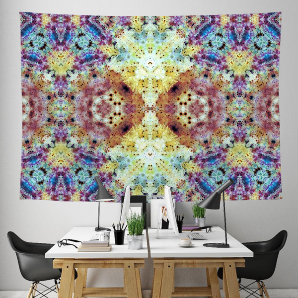 Conscious Collection Tapestry / Festival Flag - Heady & Handmade
