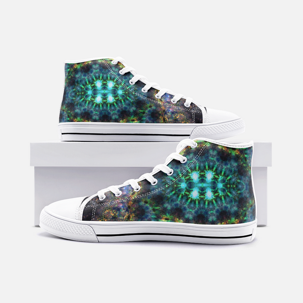 Ceres Psychedelic Canvas High-Tops