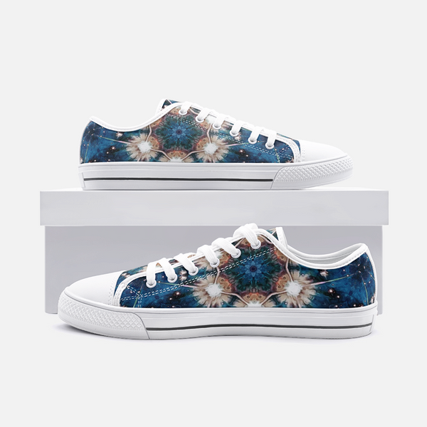 Beacon Psychedelic Canvas Low-Tops