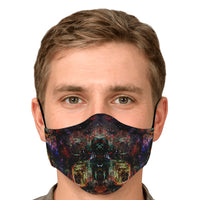 Prismyx Psychedelic Adjustable Face Mask (Quantity Discount)