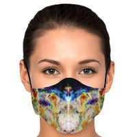Acolyte Nocturne Psychedelic Adjustable Face Mask (Quantity Discount)