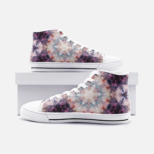 Medusa Psychedelic Canvas High-Tops