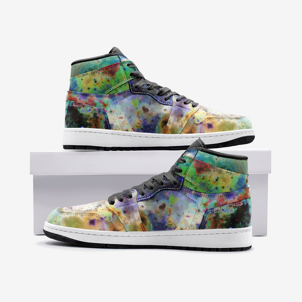 Acolyte Ethos Psychedelic Full-Style High-Top Sneakers