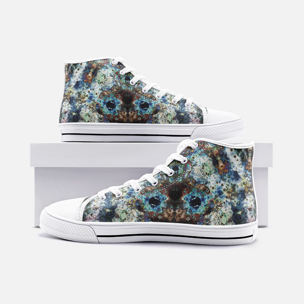 Lunix Psychedelic Canvas High-Tops