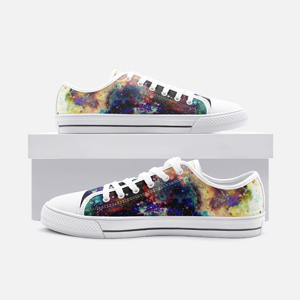 Lucien Psychedelic Canvas Low-Tops