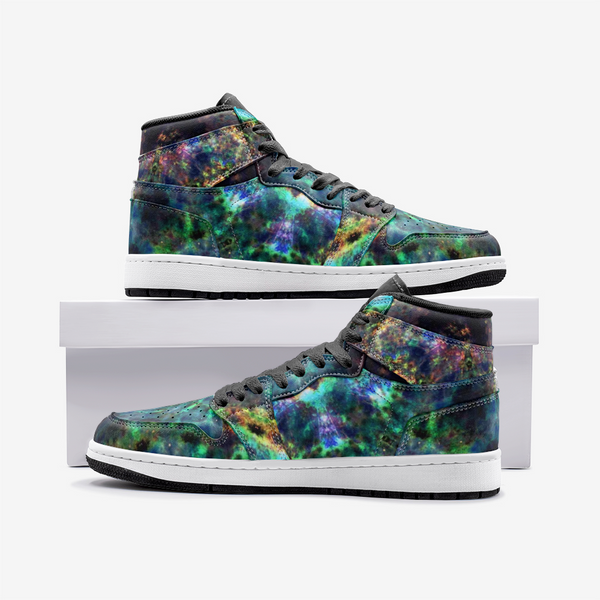 Ceres Psychedelic Full-Style High-Top Sneakers