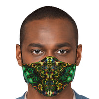 Xerxes Psychedelic Adjustable Face Mask (Quantity Discount)