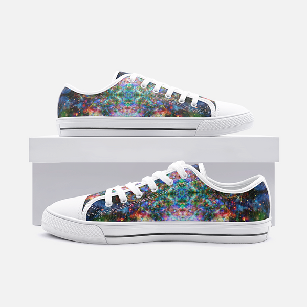 Oriarch Psychedelic Canvas Low-Tops